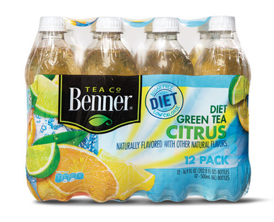 Benner Diet Green Tea with Citrus Pack