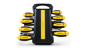 WORKZONE 45-Piece Screwdriver Set with Storage Rack