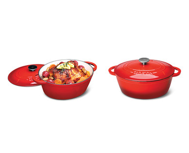 Crofton Cast Iron 4.6-Quart French Oven View 2