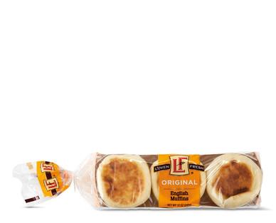 L'oven Fresh Plain English Muffins