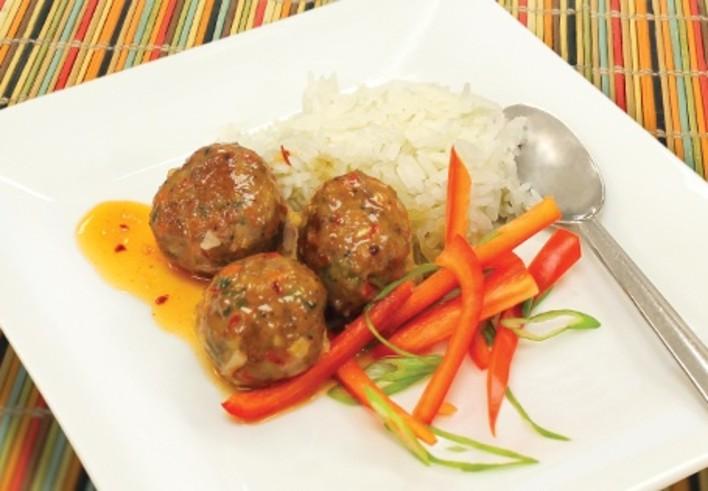 Thai Chili Meatballs