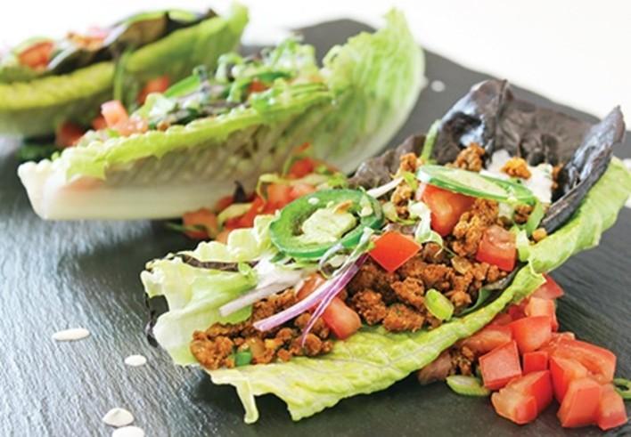 Zesty Turkey Lettuce Wraps