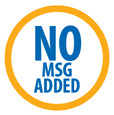 No MSG Added logo