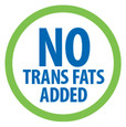 No Trans Fats Added logo