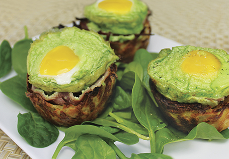 Green Eggs and Ham in a Basket
