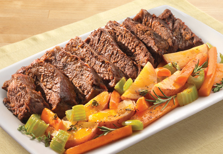 Braised Pot Roast with Vegetables