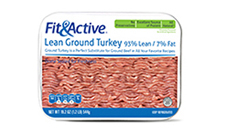 Fit and Active 93% Lean Fresh Ground Turkey. View Details.