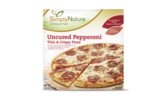 SimplyNature Uncured Pepperoni Thin & Crispy Pizza