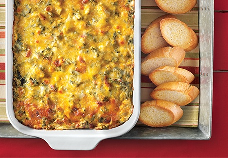 Bacon, Spinach and Artichoke Dip