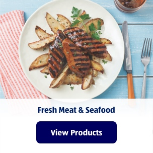 Fresh Meat & Seafood. View Products