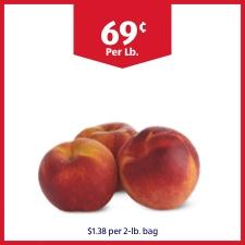 69 cents Per Lb. $1.38 per 2-lb bag