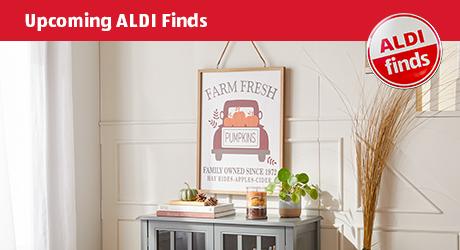 Upcoming ALDI Finds