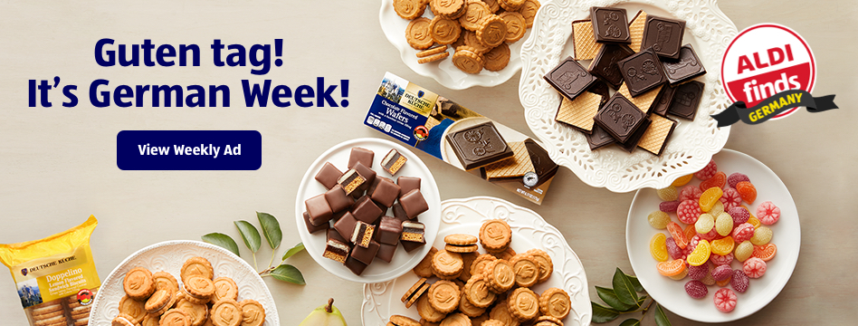 Guten tag! It's German Week!. View Weekly Ad.