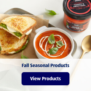 Fall Seasonal Products. View Products.