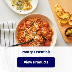 Pantry Essentials. View Products.