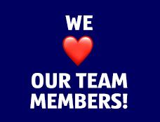 We love our team members! Watch video