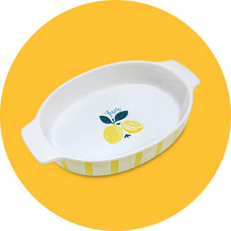 Crofton Lemon Casserole Dish