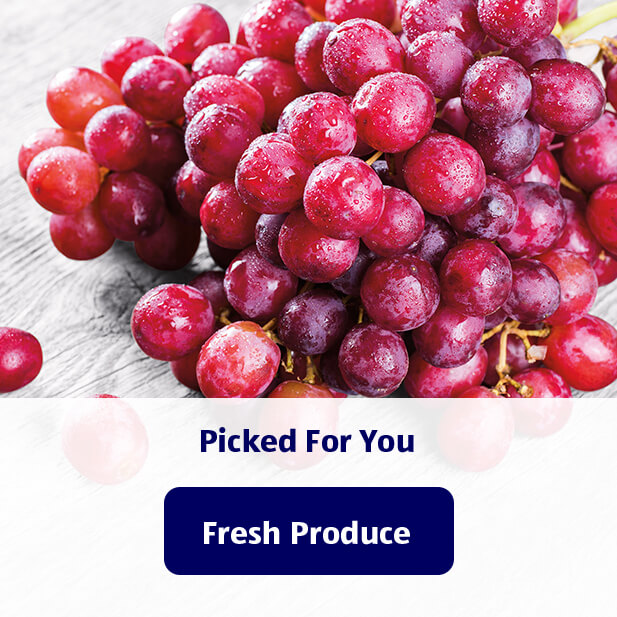 Picked for you. Fresh Produce.