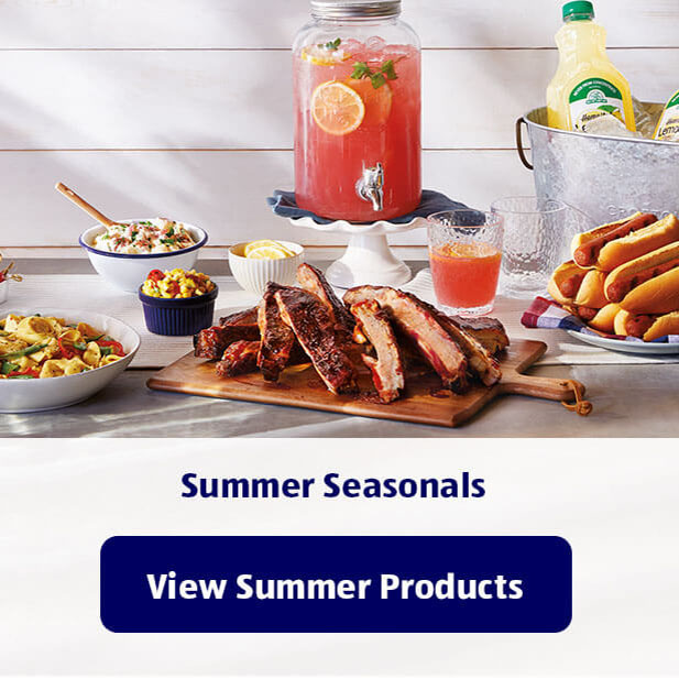 Summer Seasonals. View Summer Products.