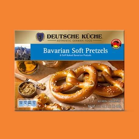 Deutsche Küche Bavarian Soft Pretzels