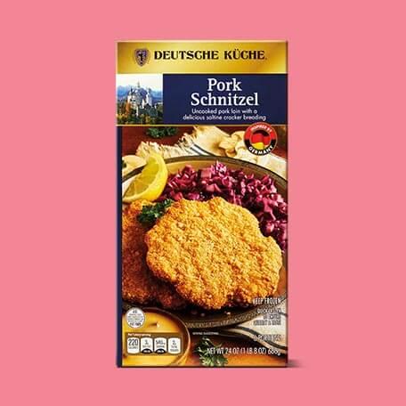 Deutsche Küche Pork Schnitzle