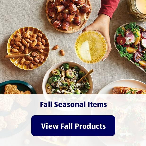 Fall Seasonal Items. View Fall Products.