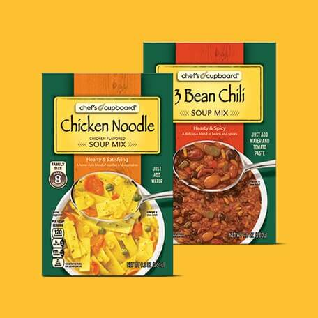 Chef's Cupboard Hearty Soup or Chili Mix