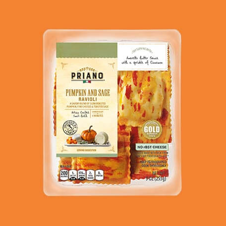 Priano Pumpkin and Sage Ravioli