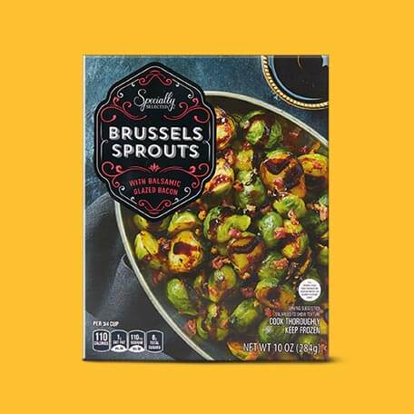 Specially Selected Brussels with Bacon and Balsamic
