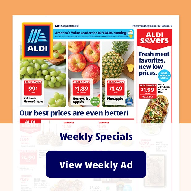 Weekly Specials. View Weekly Ad.