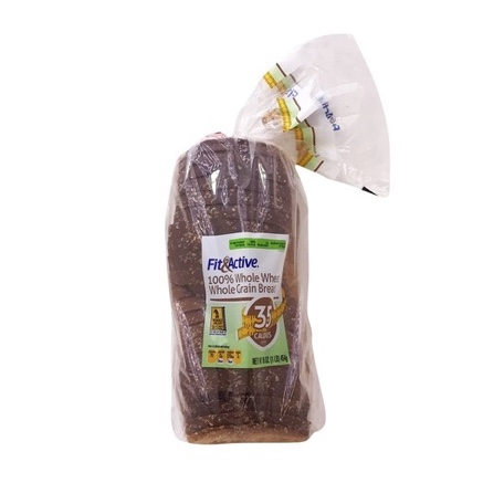 Fit & Active 35 Calorie 100% Whole Wheat Bread