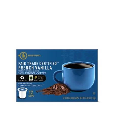 Barissimo French Vanilla or Hazelnut Coffee Cups