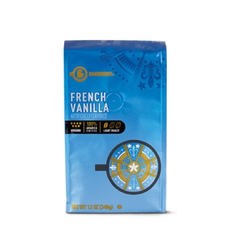 Barissimo French Vanilla or Hazelnut Ground Coffee