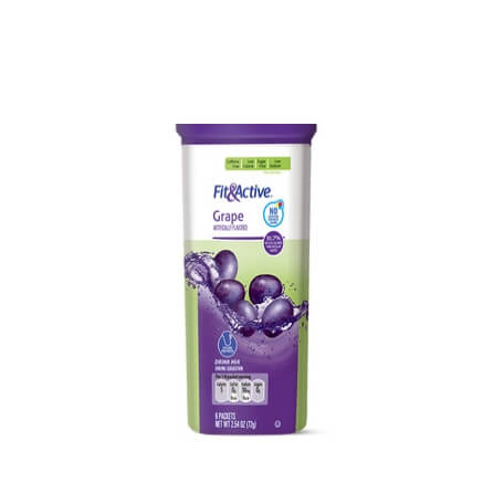 Fit & Active® Grape Drink Mix