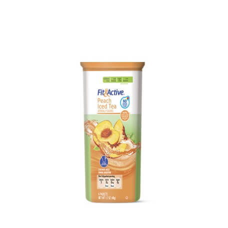 Fit & Active® Peach Iced Tea Drink Mix