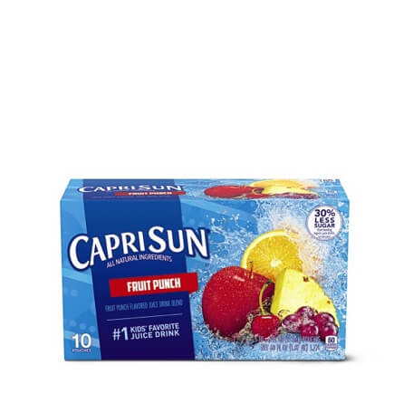Capri Sun Juice Pouches Assorted Varieties