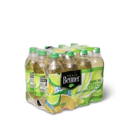Benner Green Tea with Citrus