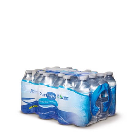 PurAqua 24 Pack Purified Drinking Water