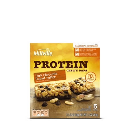 Millville Protein Chewy Bars Assorted Varieties