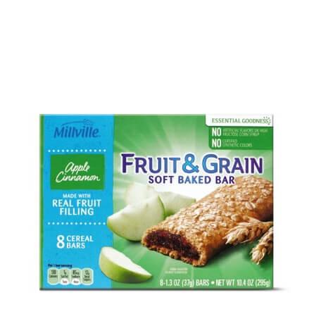 Millville Fruit & Grain Bars Assorted Varieties