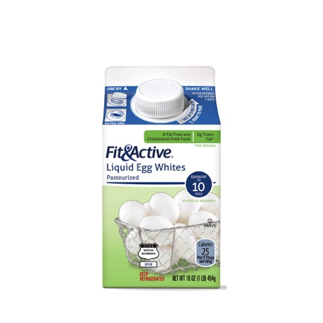 Fit & Active Liquid Egg Product or Egg Whites