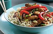 Teriyaki Pork Noodles