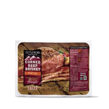 Cattlemens Ranch USDA Choice Flat Cut Corned Beef Brisket