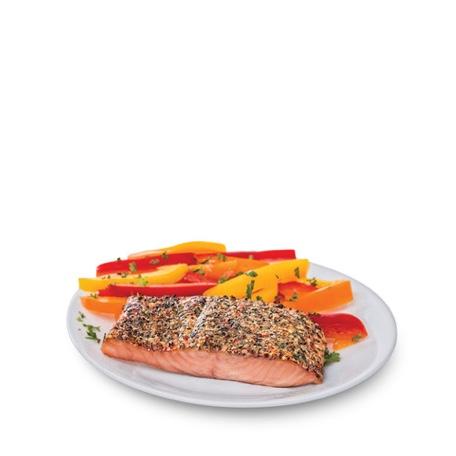 Fresh Atlantic Salmon with Mediterranean Herb