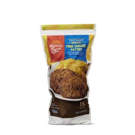Breakfast Best Original or Maple Pre-Cooked Sausage Patties