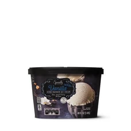 Specialty Selected Super Premium Vanilla Ice Cream
