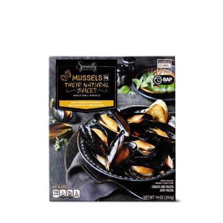 Specialty Selected Natural Mussels