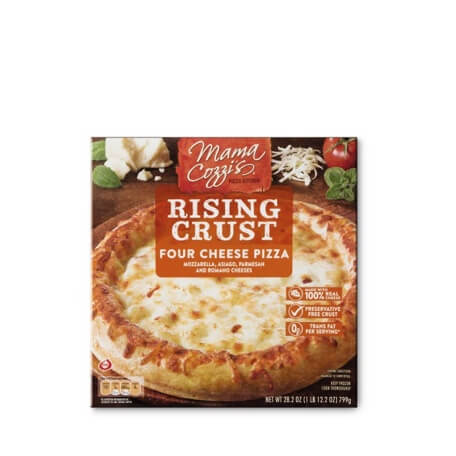 Mama Cozzi's Pizza Kitchen 3 Meat or 4 Cheese Rising Crust Pizza