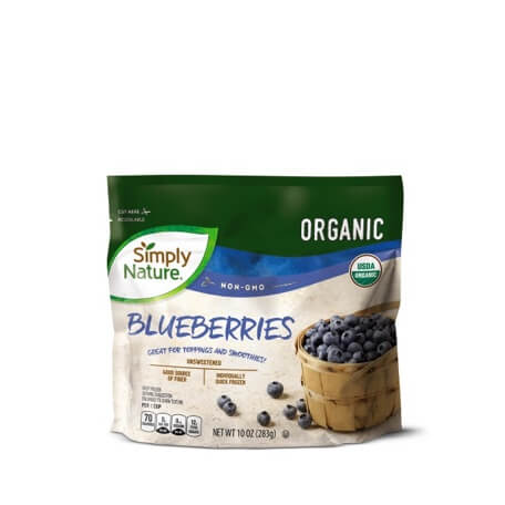 Simply Nature Organic Blueberries