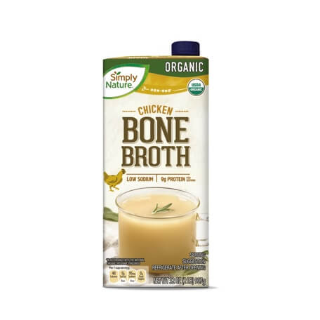 Simply Nature Organic Chicken or Beef Bone Broth